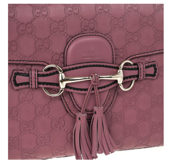 de48d79e5ddf Customer Reviews Source · Gucci Pink Emily Guccissima Leather Chain  Shoulder Bag NET FASHIONISTA